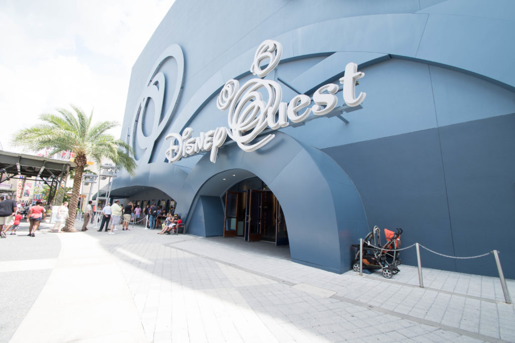 DisneyQuest at Disney Springs exterior