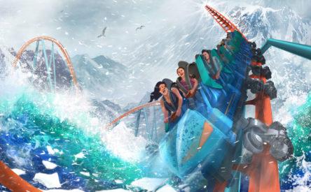 Ice Breaker POV released at SeaWorld Orlando