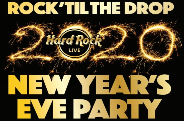 Rock 'til the Drop 2020 New Year's Eve Party at Hard Rock Live