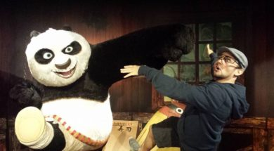 Po from Kung Fu Panda at Madame Tussauds Orlando
