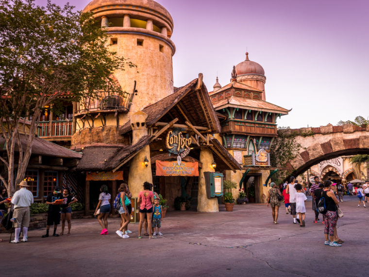 Confisco Grille at Islands of Adventure's Port of Entry