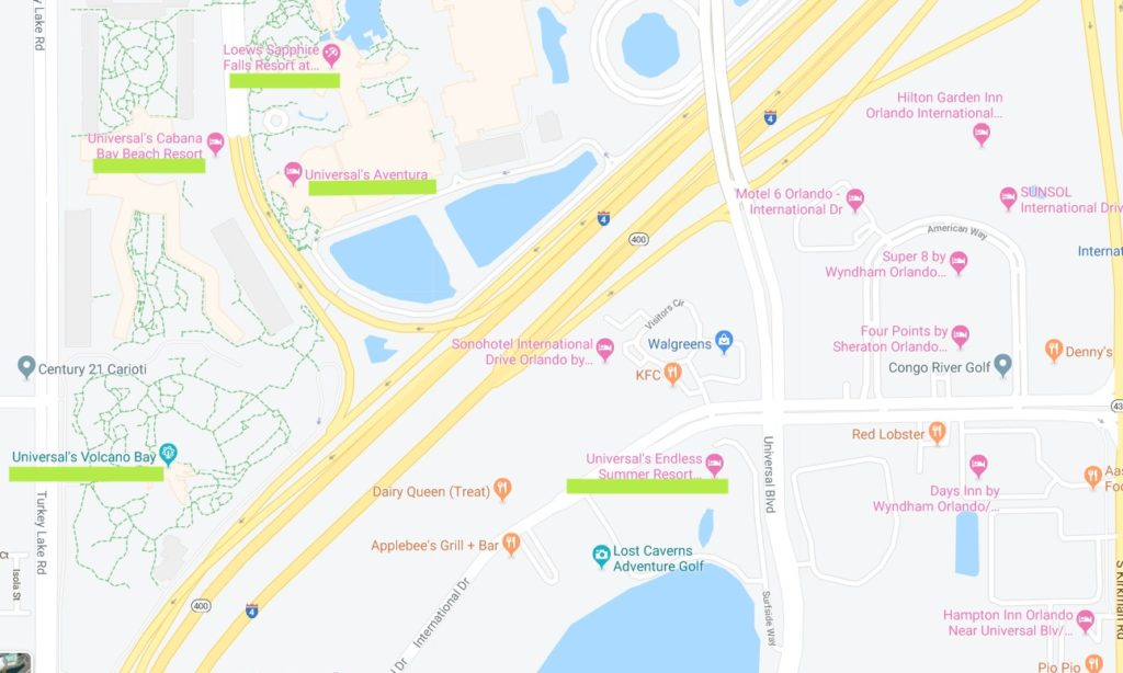 I-Drive near Universal Orlando