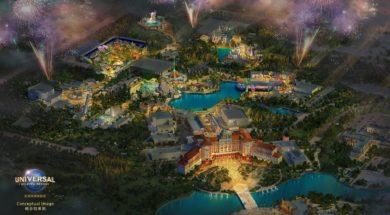 Universal Studios Beijing layout