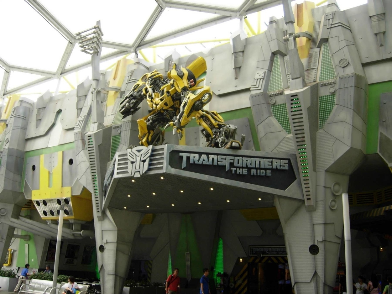 Transformers: Differences between Singapore, Hollywood, & Orlando