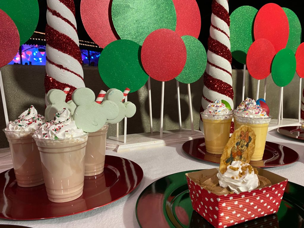 Treats at Mickey's Very Merry Christmas Party 2019