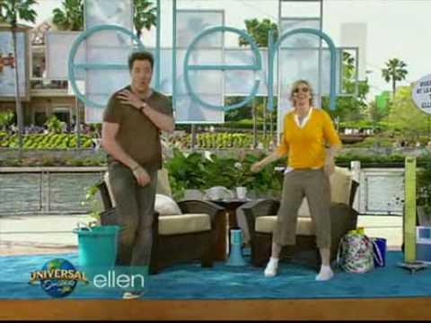 """Brendan Fraser on """"The Ellen DeGeneres Show"""""""