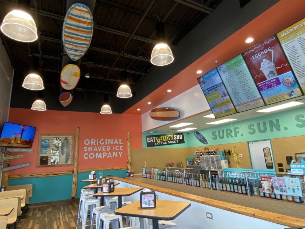 Bahama Buck's at Margaritaville Orlando's Sunset Walk