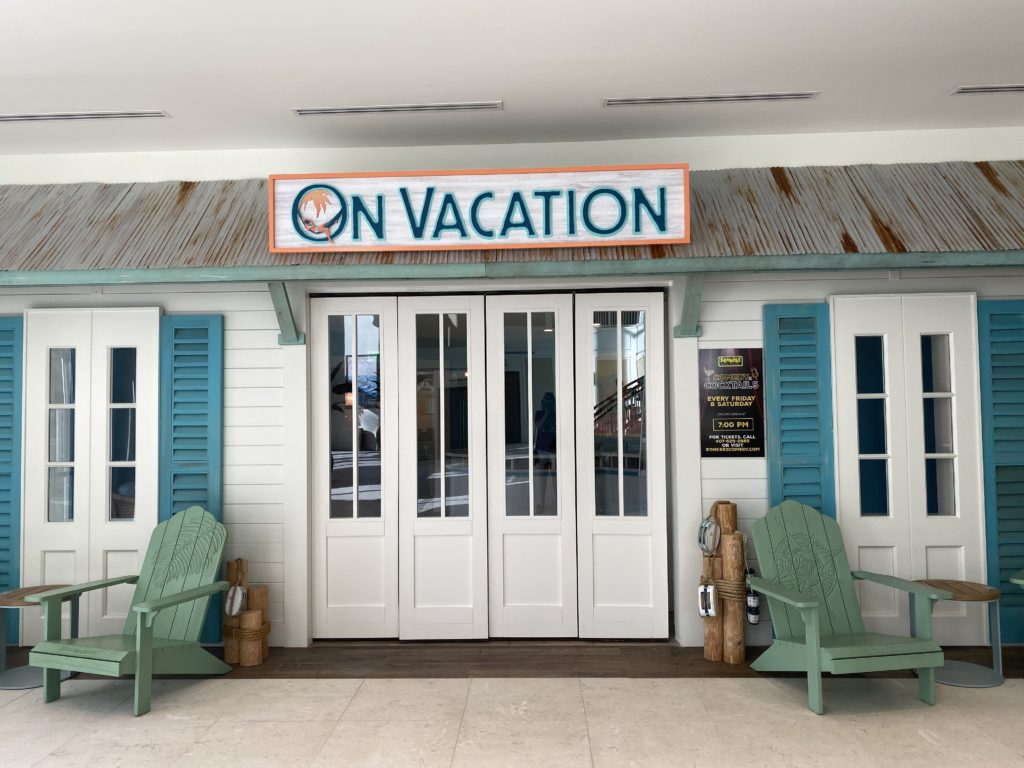 On Vacation restaurant at Margaritaville Orlando Resort