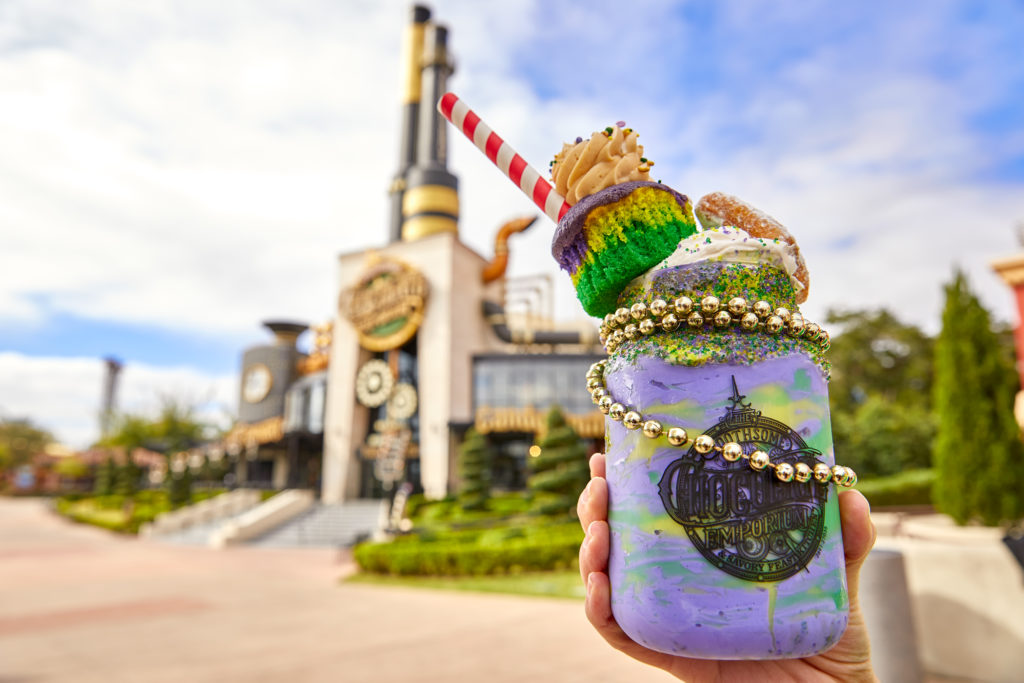 King Cake Milkshake at Toothsome Chocolate Emporium