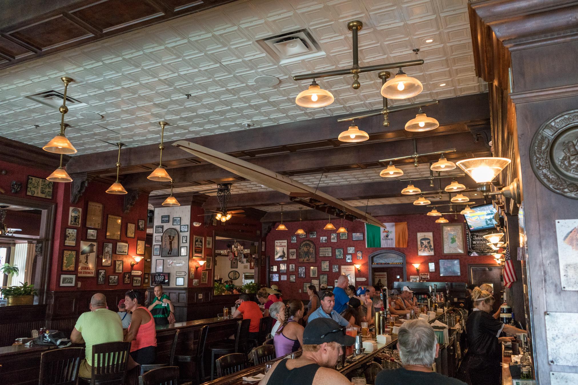 Finnegan's bar.