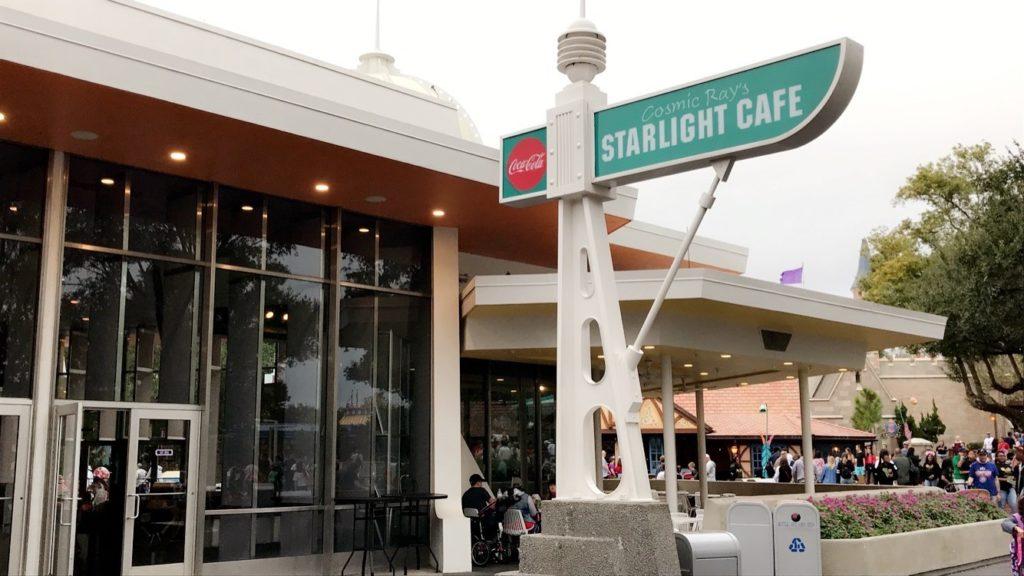 Cosmic Ray's Starlight Cafe at Magic Kingdom