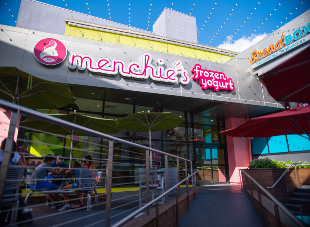 Menchie's Frozen Yogurt in Universal Orlando CityWalk
