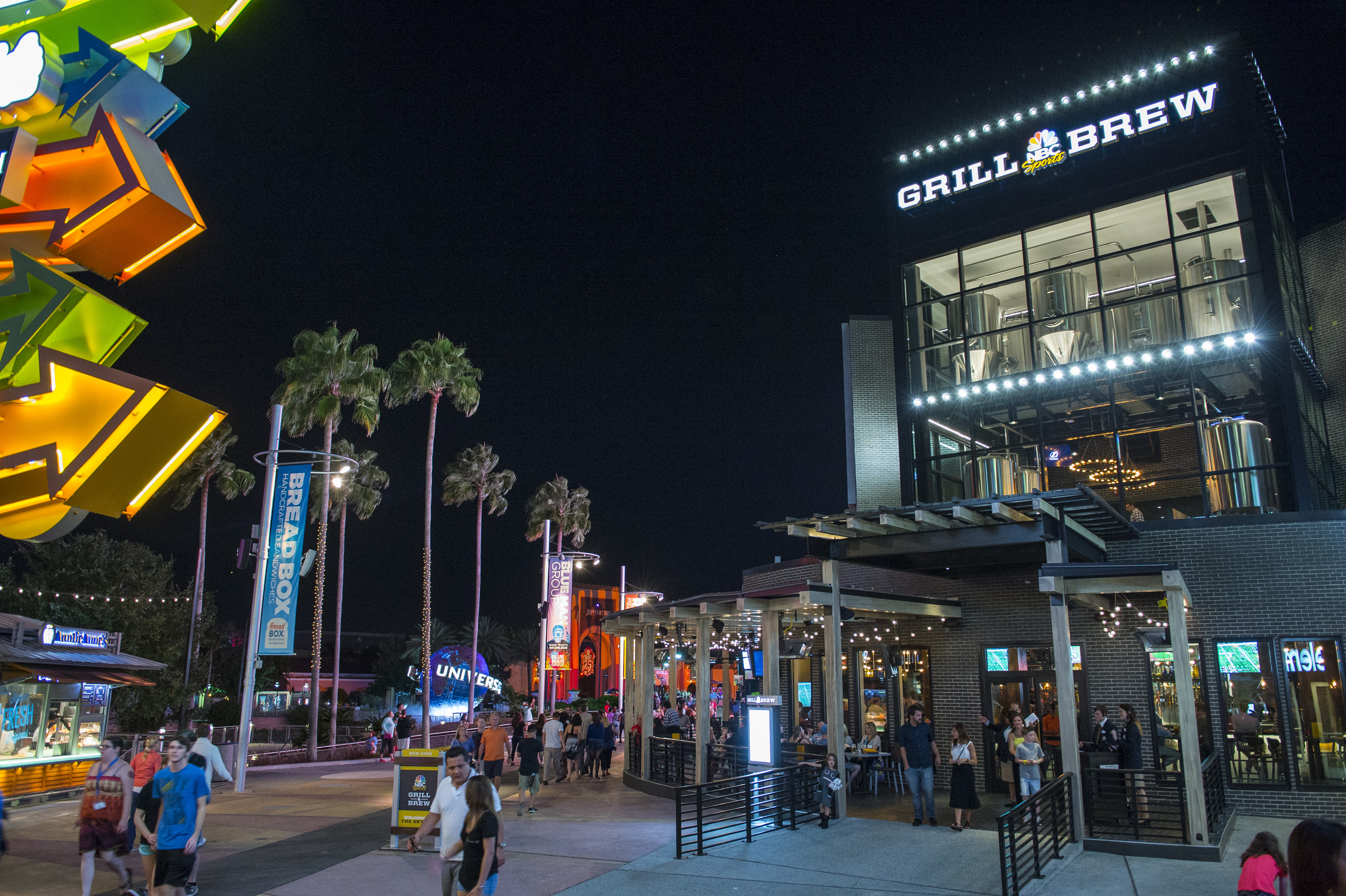 NBC Sports Grill & Brew at Universal Orlando's CityWalk.