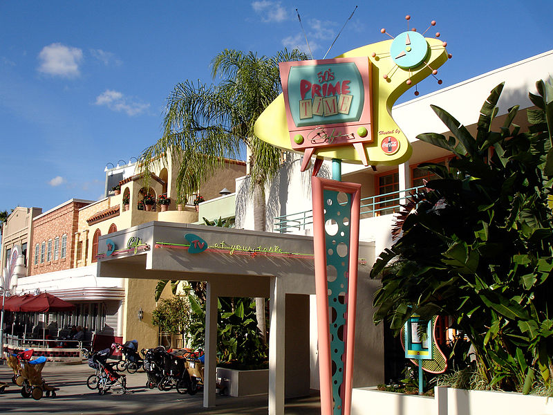 '50s Prime Time Cafe at Disney's Hollywood Studios