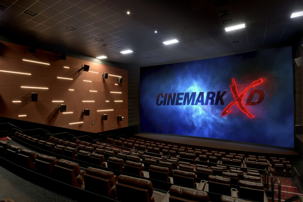 Universal Cinemark theater