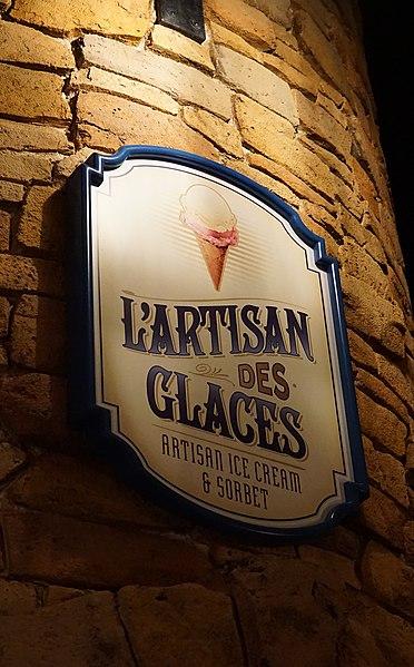 L'Artisan des Glaces at Epcot