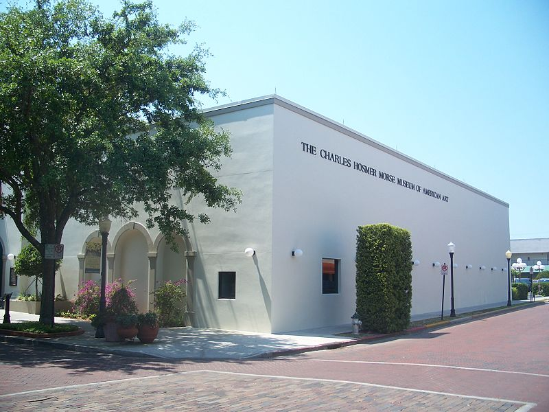Charles Hosmer Morse Museum of American Art in Winter Park