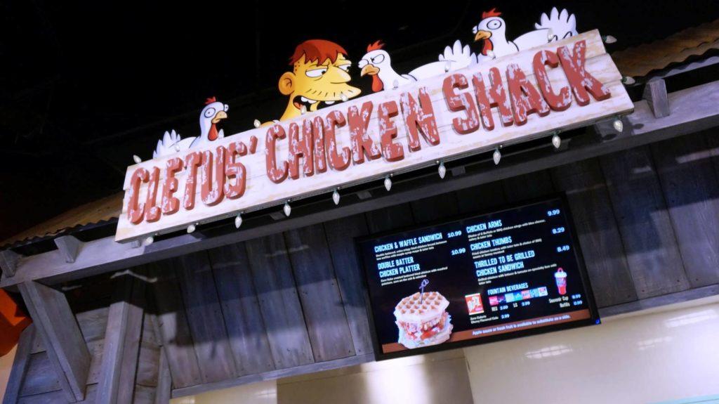 Cletus' Chicken Shack menu