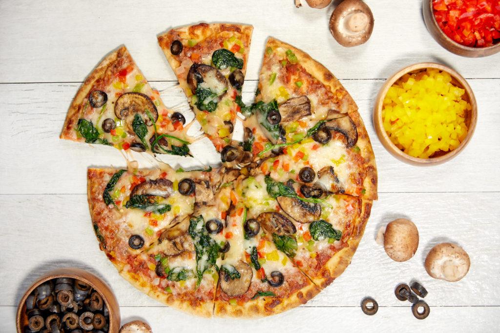 Dockside Inn and Suites - Garden Pizza