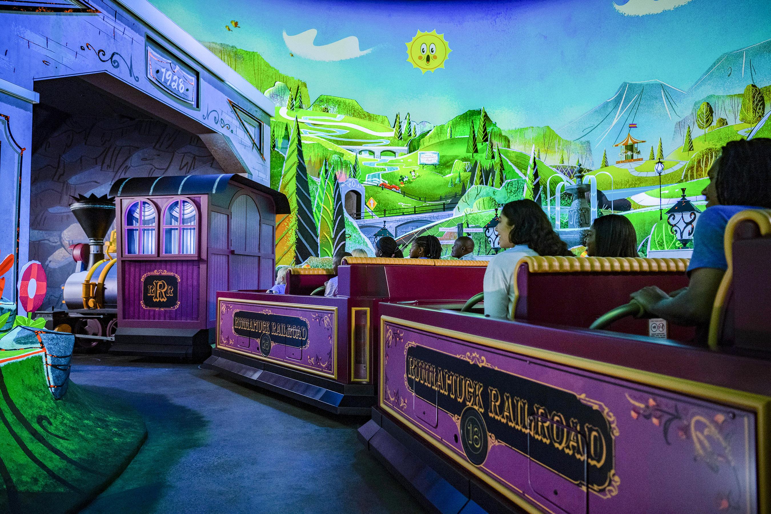 Review: Mickey and Minnie's Runaway Railway