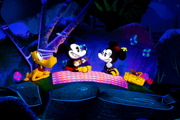 From the Tunnel of Love to Mickey's Runaway Railway: The past and future of dark rides
