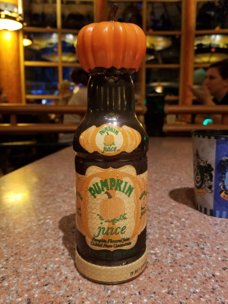 Pumpkin Juice from The Wizarding World of Harry Potter