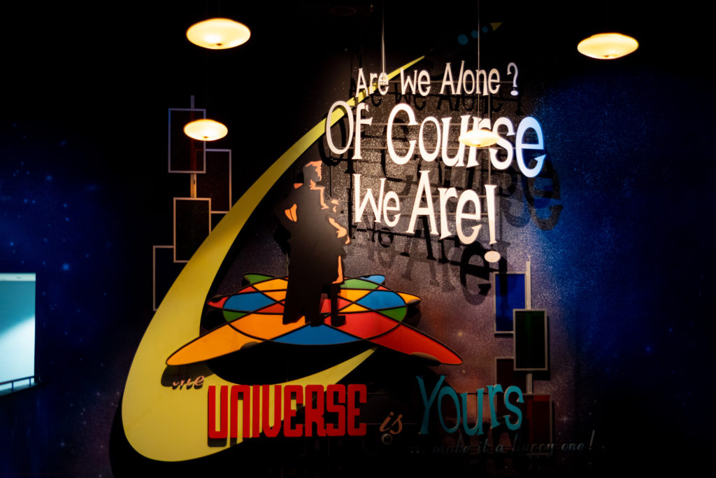"""The Universe is Yours"" introduction"