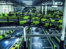 Andretti Indoor Karting & Games Orlando race tracks
