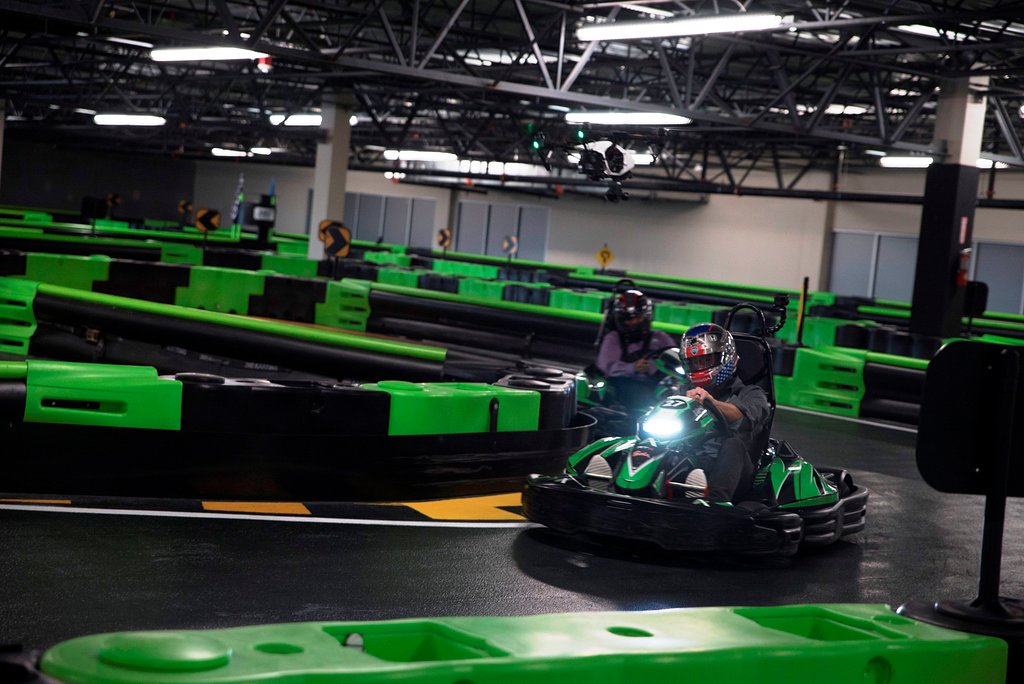 Andretti Indoor Karting & Games Orlando racing
