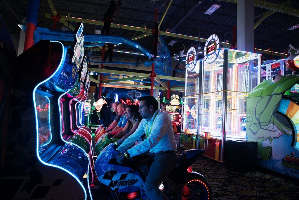 Andretti Indoor Karting & Games Orlando's arcade and ropes course