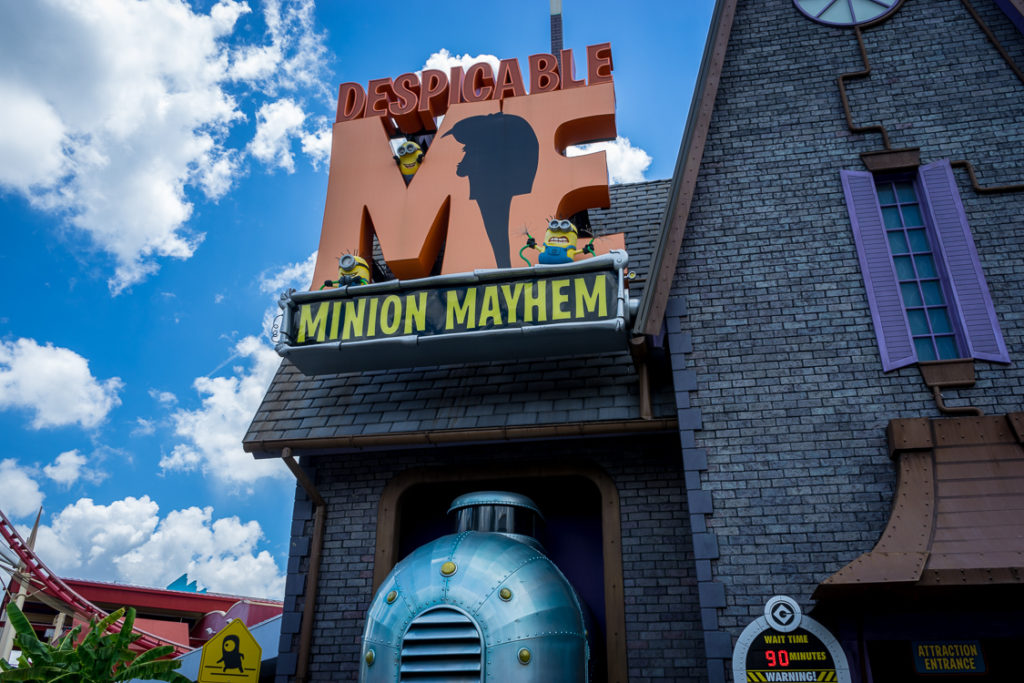 Despicable Me: Minion Mayhem at Universal Studios Florida
