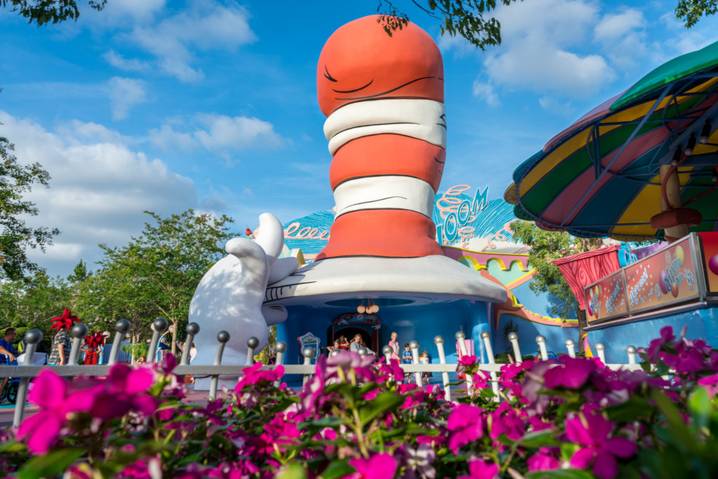 The Cat in the Hat at Universal's Islands of Adventure