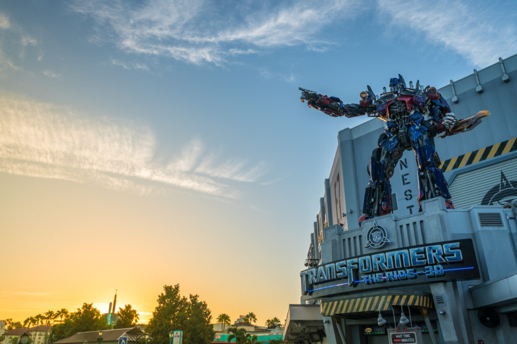 Transformers: The Ride-3D at Universal Studios Florida