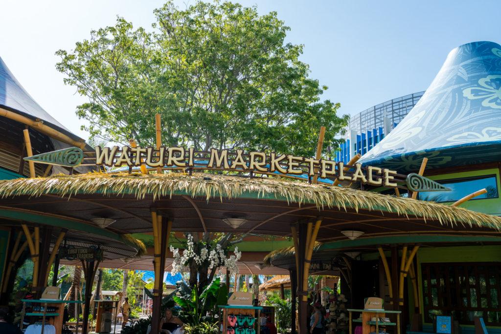 Waturi Marketplace at Universal's Volcano Bay