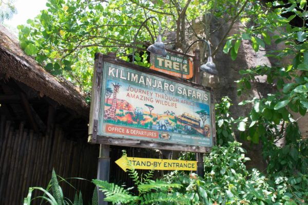 Take a wild ride on Kilimanjaro Safaris