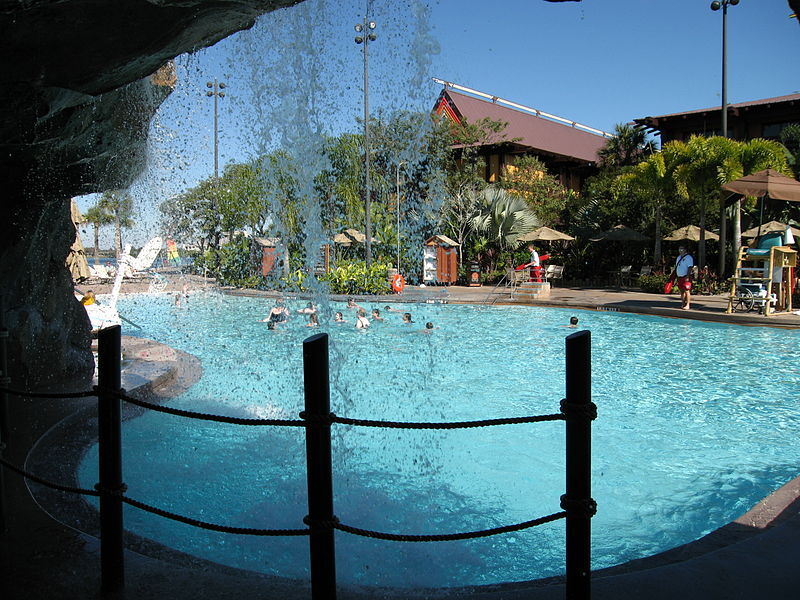 Disney's Polynesian Village Resort pool