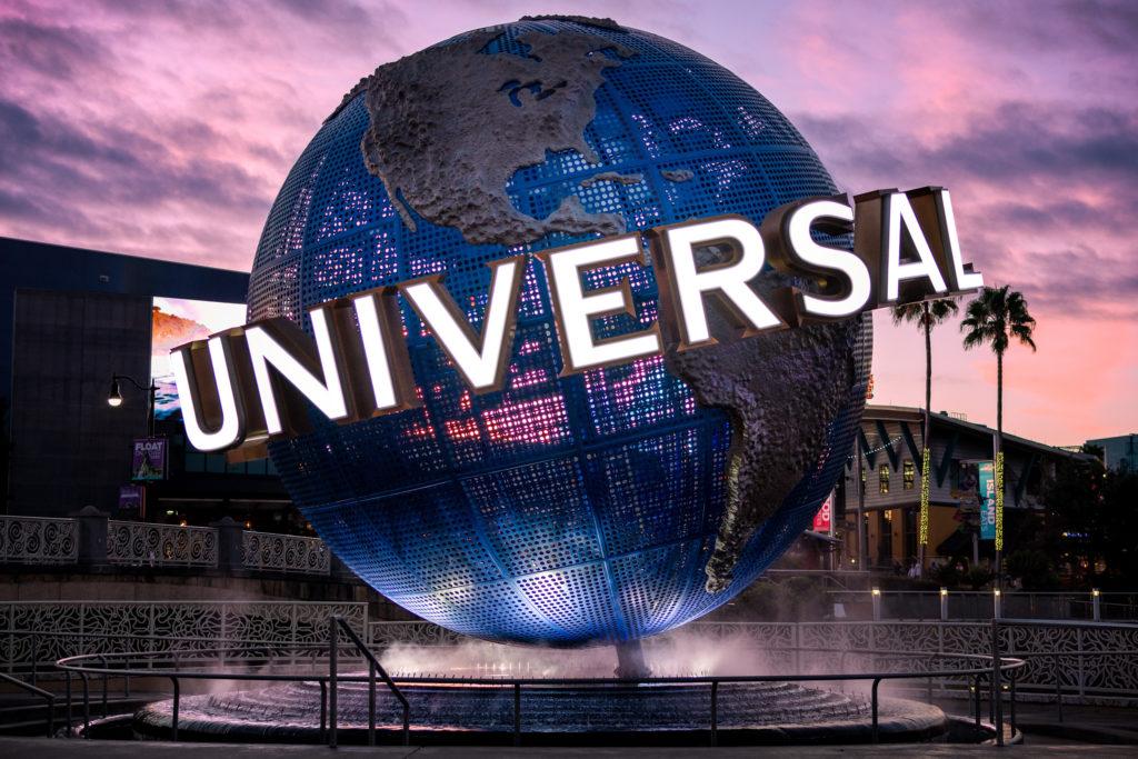 Universal Orlando Resort's globe