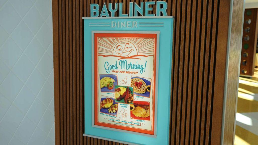 Bayliner Diner at Cabana Bay Beach Resort