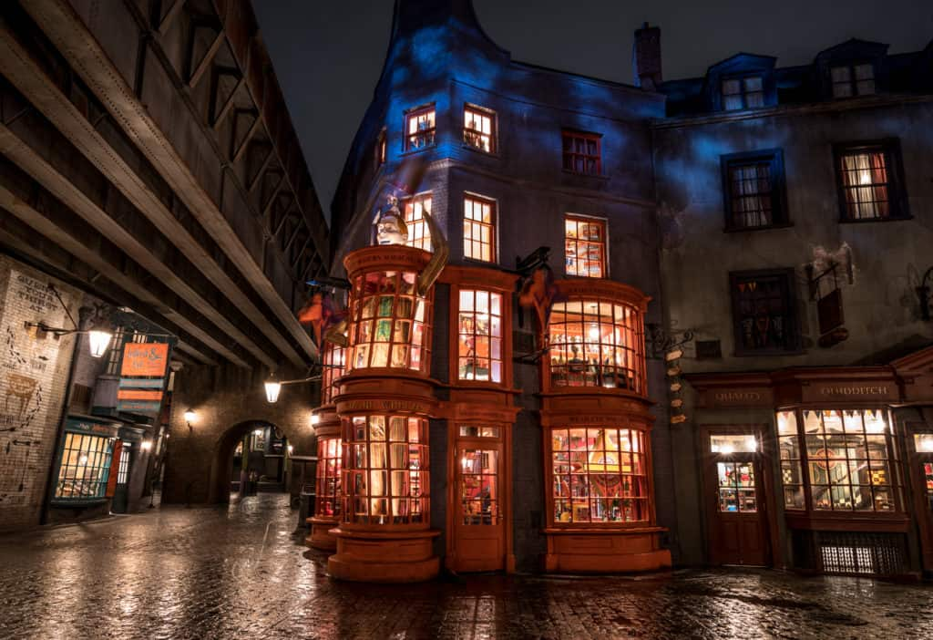 Weasleys' Wizard Wheezes in Diagon Alley at Universal Studios Florida