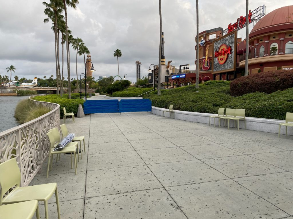 New U-Rest area at CityWalk