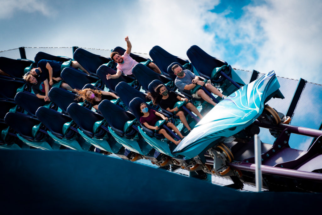 SeaWorld Orlando covid-19 reopening