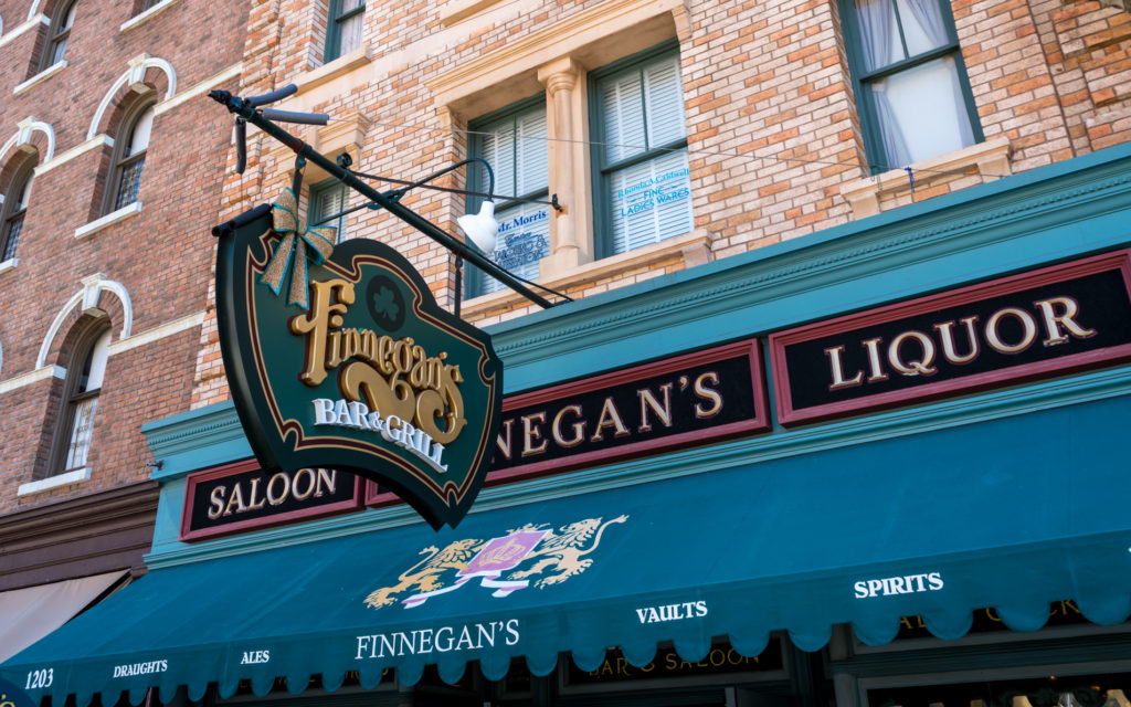Finnegan's Bar & Grill in Universal Studios Florida
