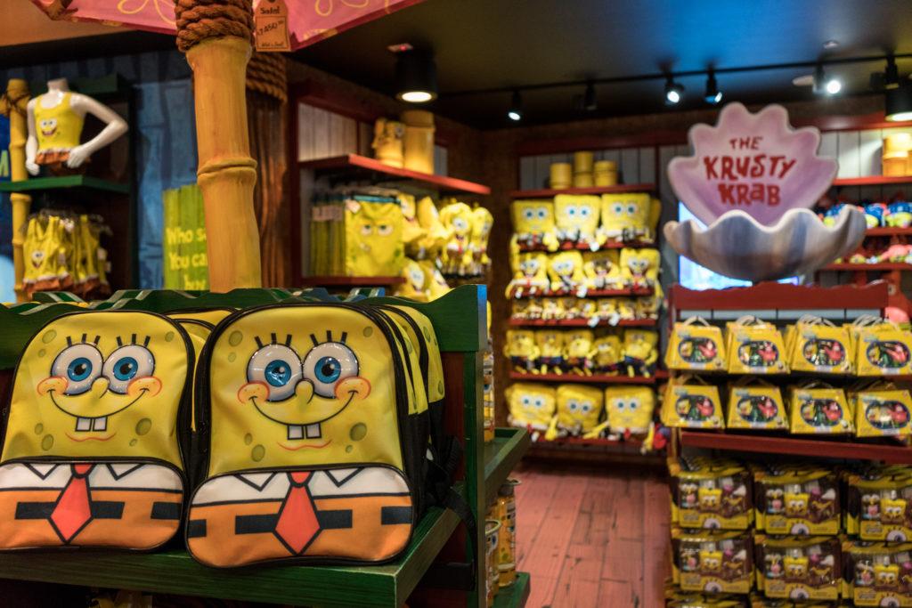 SpongeBob StorePants at Universal Studios Florida