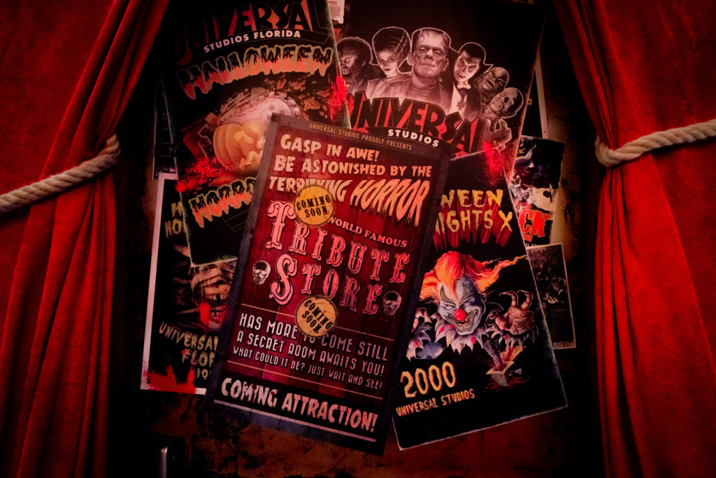HHN Tribute Store 2020 - hidden room