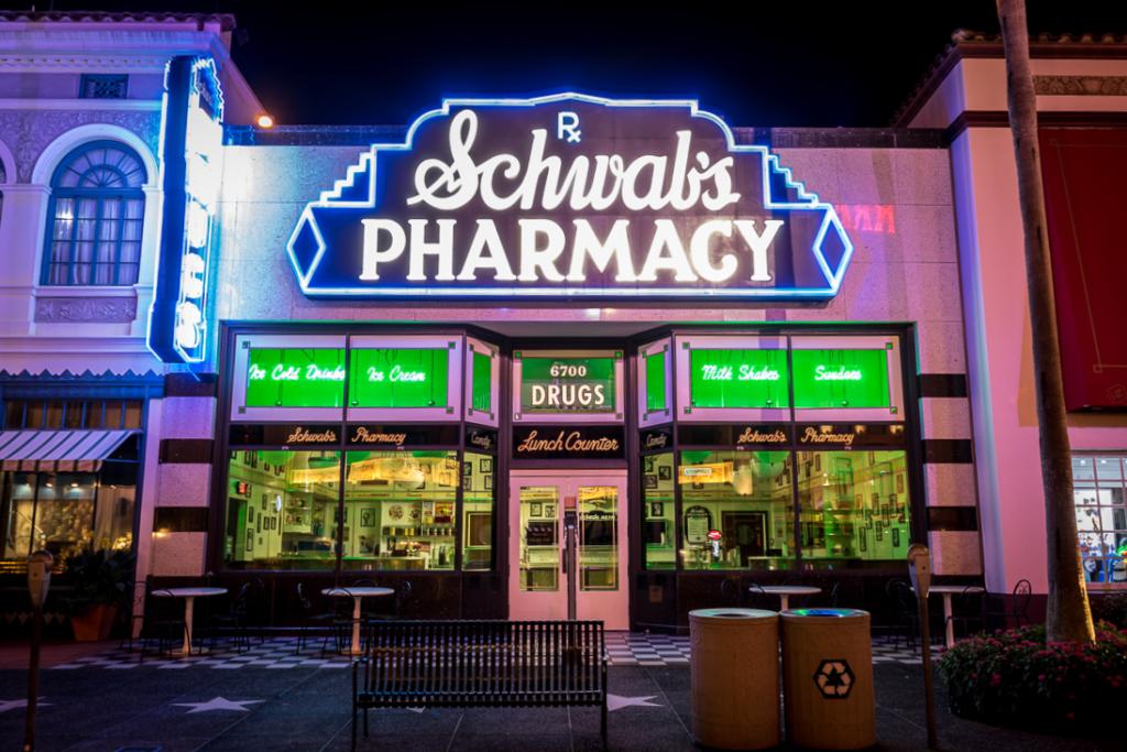 Schwab's Pharmacy at Universal Studios Florida