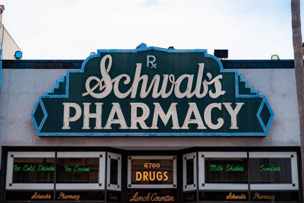 Schwab's Pharmacy in Universal Studios Florida