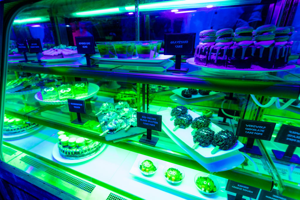 HHN Tribute Store sweets room