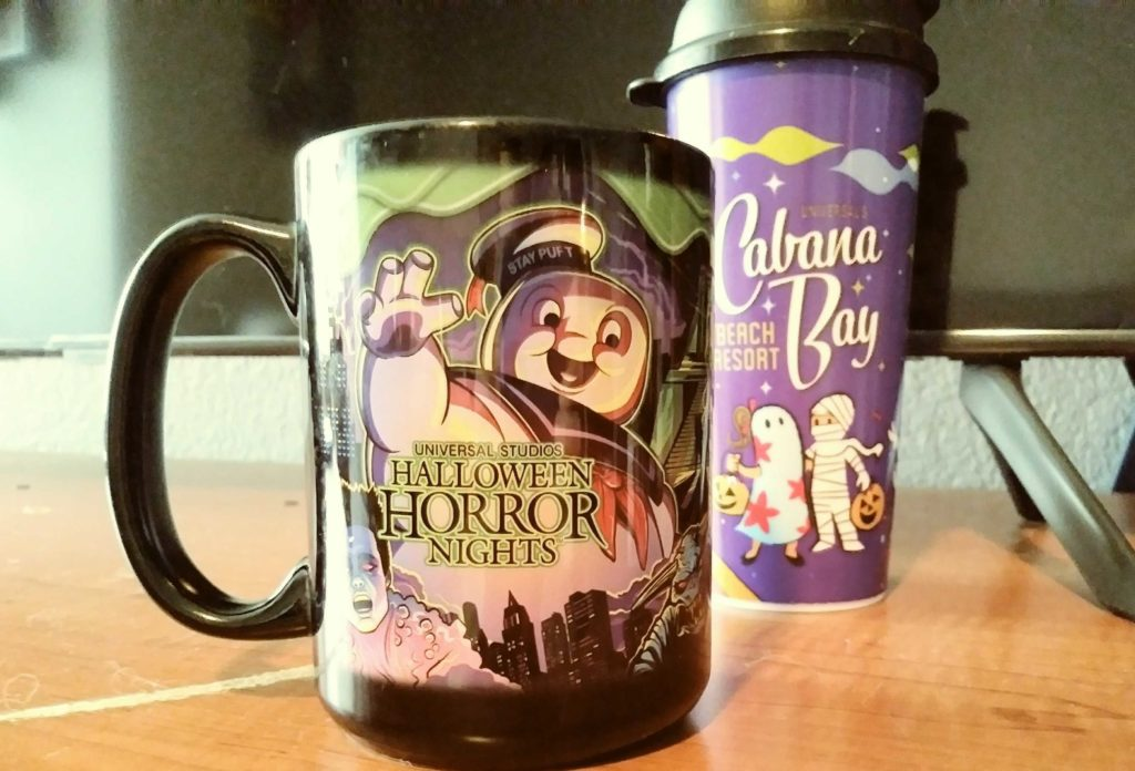 HHN and Cabana Bay Halloween mugs 2019