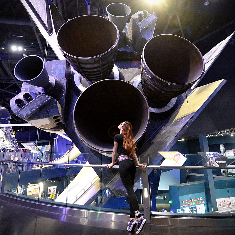 Space shuttle Atlantis at the Kennedy Space Center