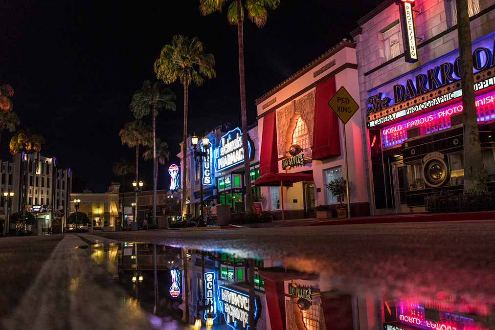 Schwab's Pharmacy lights up the streets of Hollywood in Universal Studios Florida